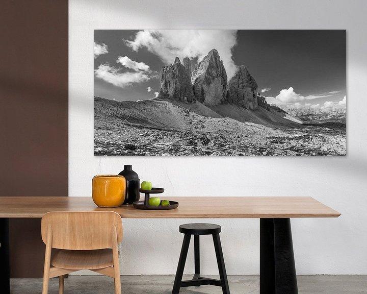 Sfeerimpressie: De Drei Zinnen in de Dolomieten in Italië - 4 van Tux Photography
