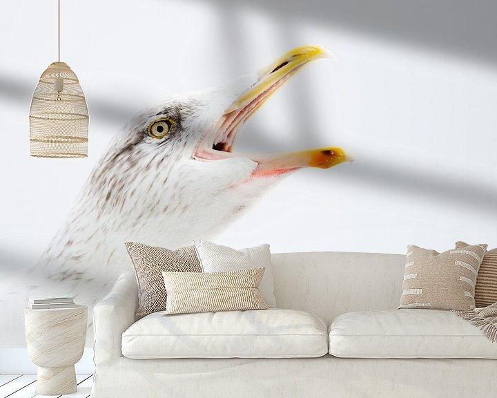 Sfeerimpressie behang: Scream van Rick Ermstrang