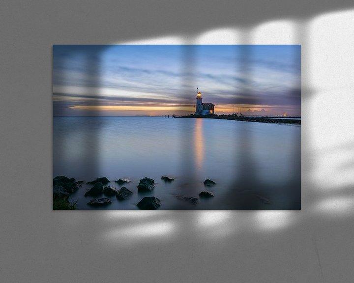Sfeerimpressie: Lichtbaken van Jan Koppelaar