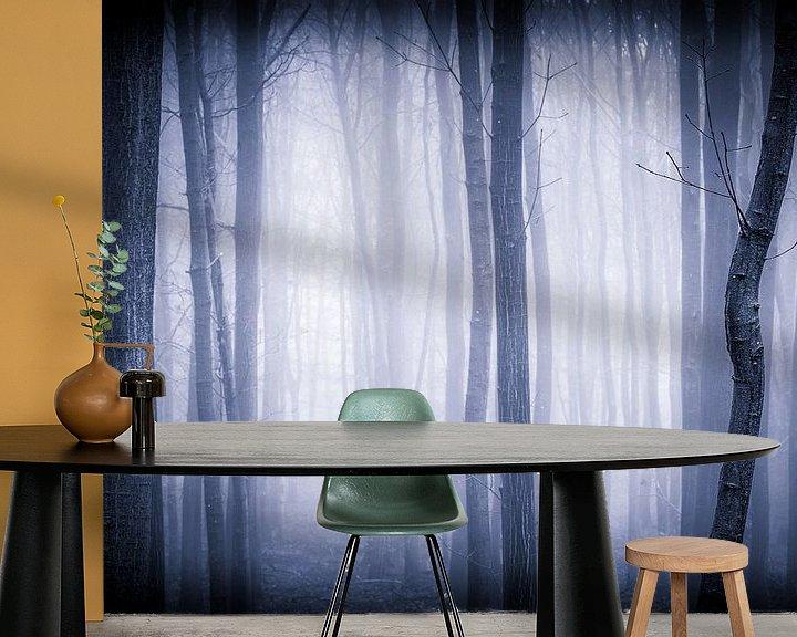 Sfeerimpressie behang: The Mist van Mark Vredeveld