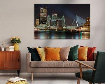 Skyline Rotterdam von Jeroen Kleiberg