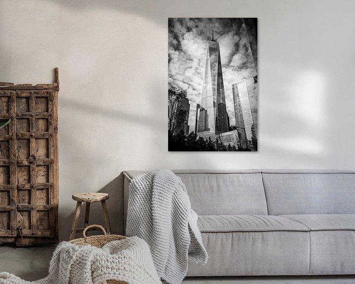 Sfeerimpressie: Freedom Tower BW van Thomas van Houten