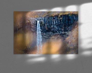 Svartifoss waterval sur Marly Tijhaar