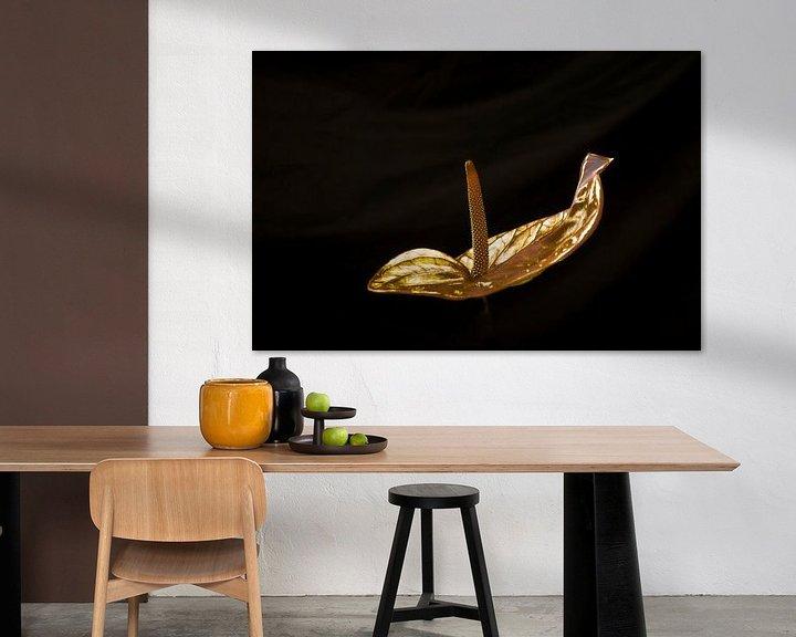 Sfeerimpressie: Gouden Anthurium van arjan doornbos