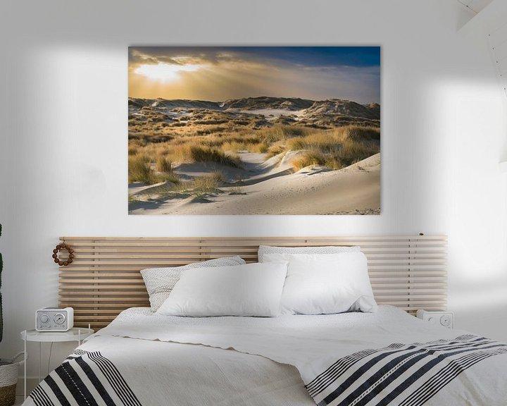 Sfeerimpressie: De duinen van Terschelling van Gerard Wielenga