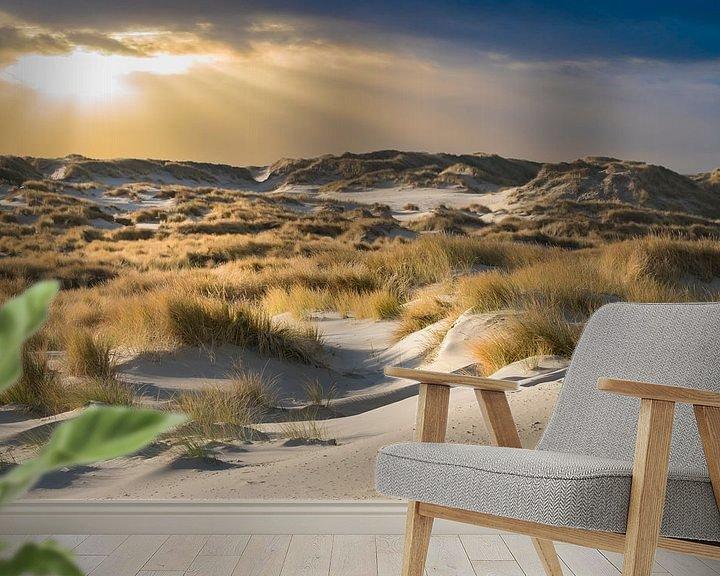 Sfeerimpressie behang: De duinen van Terschelling van Gerard Wielenga