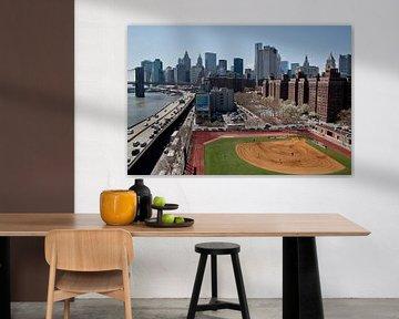 Playing baseball in the shadow of NYC van Maarten De Wispelaere