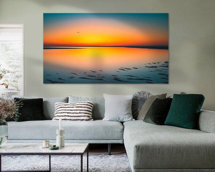 Sfeerimpressie: Breezand zonsondergang 6 van Andy Troy