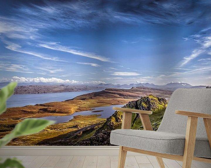 Beispiel fototapete: Schottland Skye von Edwin Kooren