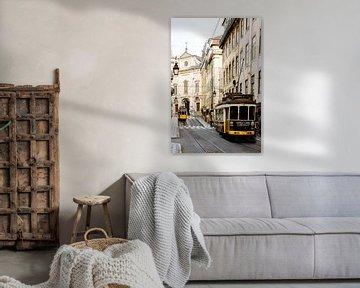 Weinlese Lissabon von Madan Raj Rajagopal