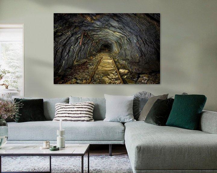Sfeerimpressie: Ondergrondse steengroeve van Bert Beckers
