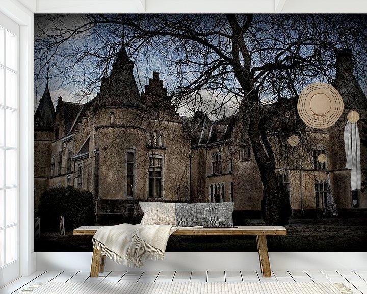 Sfeerimpressie behang: Château du Faing van Eus Driessen