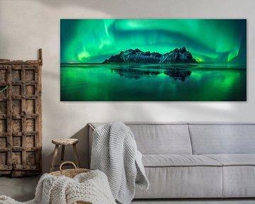 Stokksnes aurora von Wojciech Kruczynski