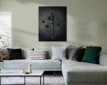Blackberries II, 2018 von Sander van der Veen