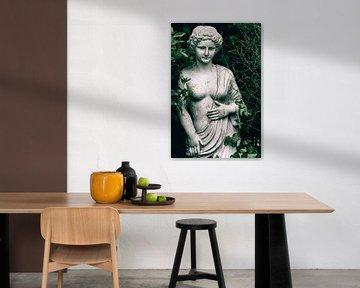 Garten Bild mit Efeu von Ellen Driesse
