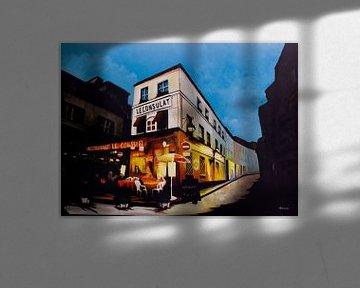 Restaurant Le Consulat in Paris von WatercolorWall