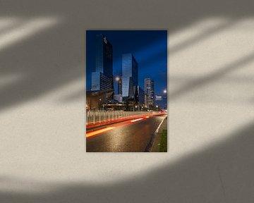 Kantoor Delftse Poort Rotterdam von Peter Hooijmeijer