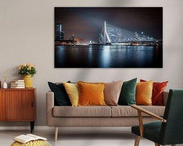 Rotterdam Skyline II (color) von Dennis Wierenga
