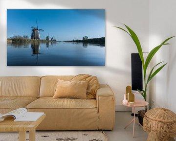 Windmolen Overwaard No. 4, Kinderdijk. van Pieter van Roijen