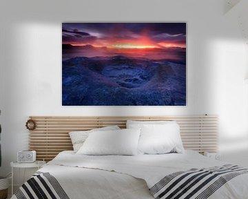 Hverir, IJsland van Sven Broeckx
