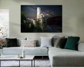 Das Schloss Lichtenstein von H.m. Soetens
