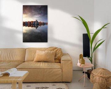 De regenbooghuisjes, Groningen von Sven Broeckx