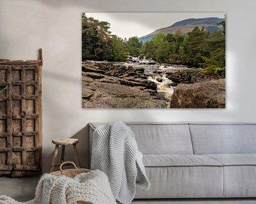Schotland, Waterval van Robert Dibbits