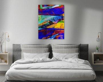 Modernes, abstraktes digitales Kunstwerk - Alles, was ich verloren und zurückgelassen habe (Teil 2) von Art By Dominic