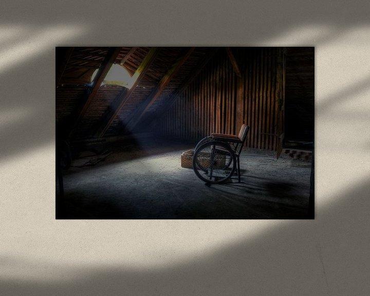 Beispiel: Wie heeft hier gezeten? von Bergkamp Photography