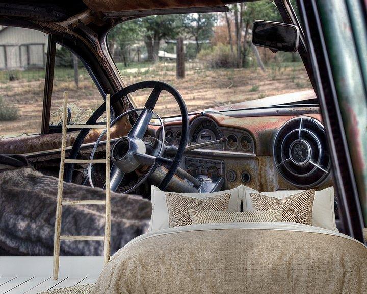 Beispiel fototapete: The Lost Pontiac von Bergkamp Photography