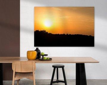 Zonsondergang in de Duinen van Bergkamp Photography