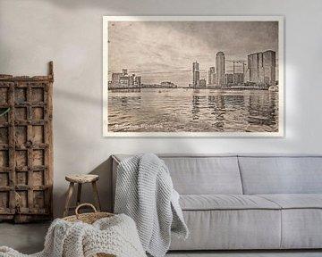 Oude ansichten: Rotterdam Rijnhaven