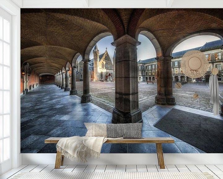Beispiel fototapete: Den Haag Binnenhof von Steven Dijkshoorn