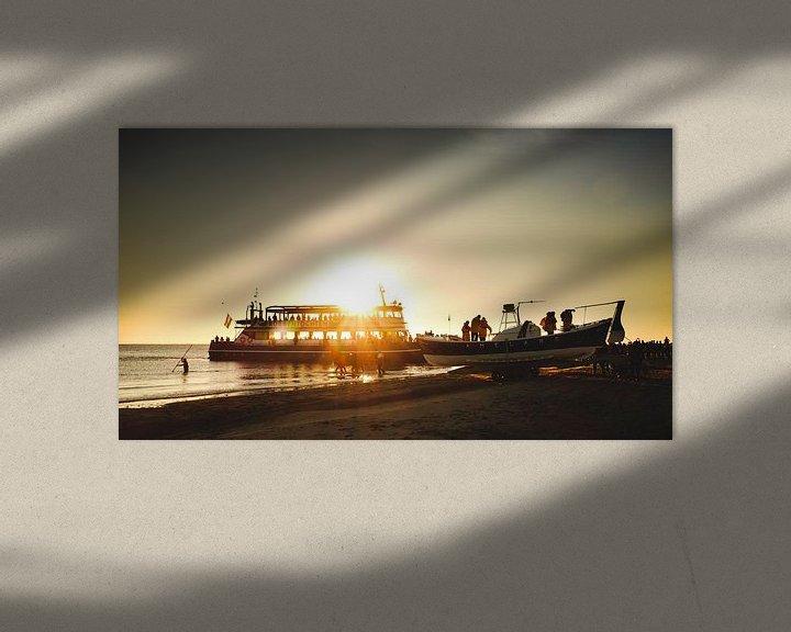 Sfeerimpressie: Paardenreddingboot op Ameland van Nico van der Vorm