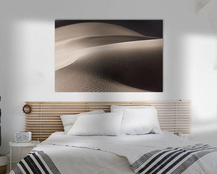 Sfeerimpressie: Abstract beeld van een zandduin in de woestijn | Iran van Photolovers reisfotografie