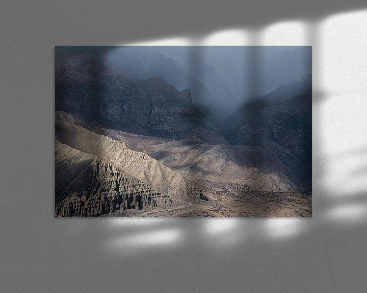 Beispiel: Wanderung durch eine schroffe Landschaft im Himalaya | Nepal von Photolovers reisfotografie