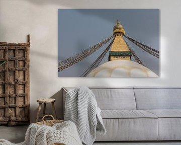 Die Augen der Bouddhanath-Stupa in Kathmandu | Nepal von Photolovers reisfotografie
