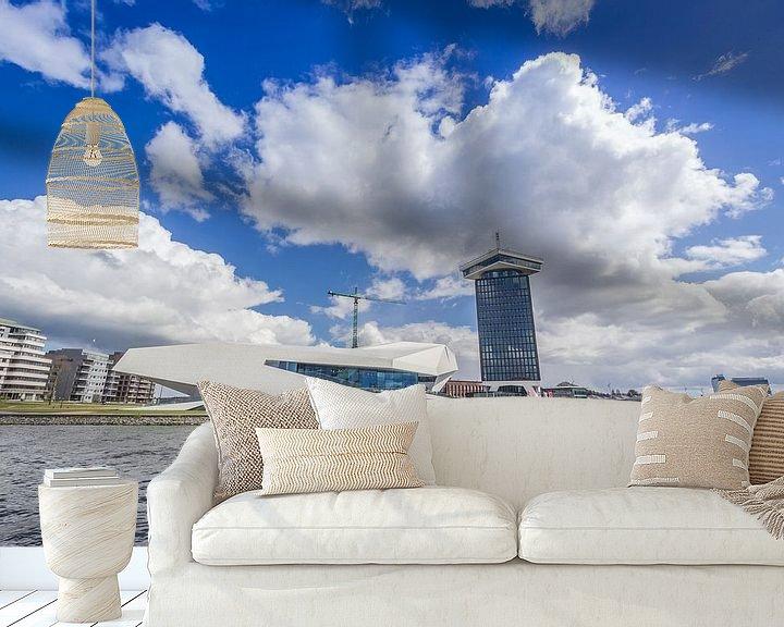 Beispiel fototapete: Das Auge von Amsterdam von Thijs van den Broek