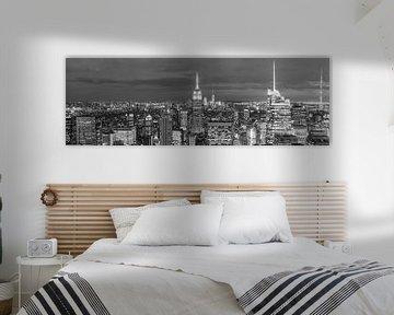 New York City Panorama (Manhattan) von Frenk Volt