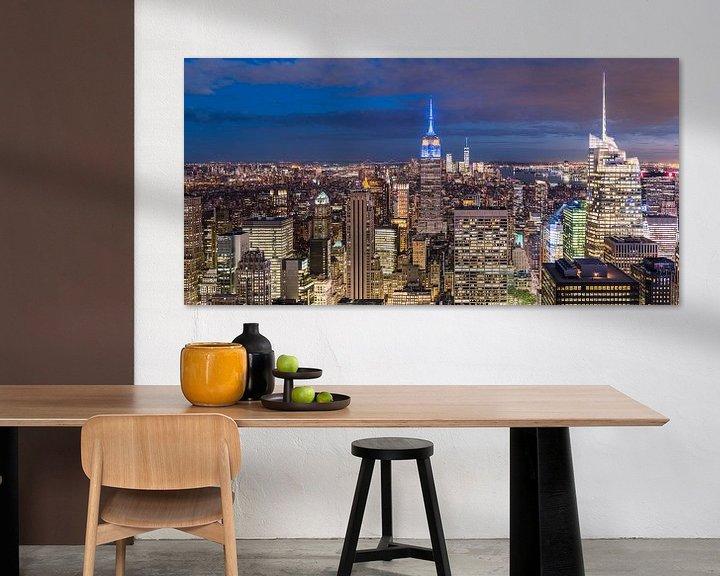Sfeerimpressie: Panorama New York City (Manhattan) van Frenk Volt