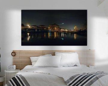 Bolwerk 'het paleis' by night van Karin vanBijleveltFotografie