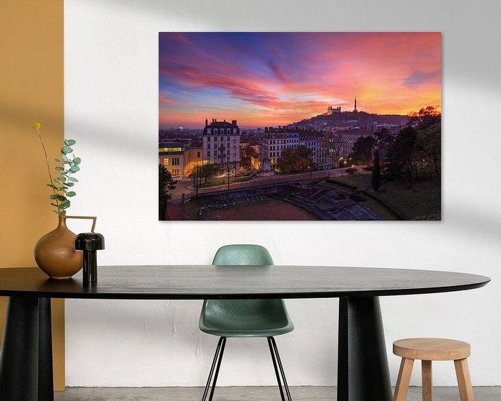 Sfeerimpressie: Lyon at Dusk van Sander van der Werf