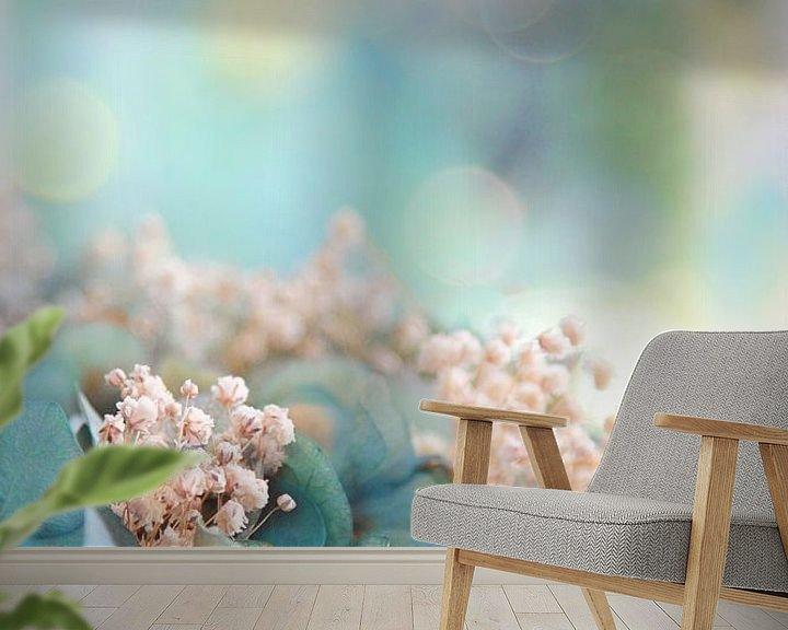Sfeerimpressie behang: Pastel op z'n mooist van Marianne Bras