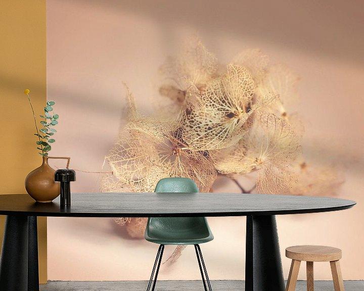 Sfeerimpressie behang: verdroogde schoonheid van Marianne Bras