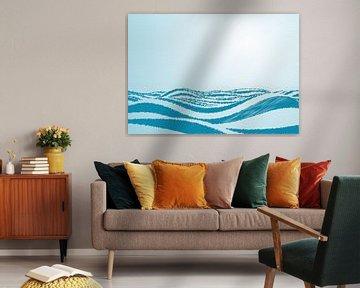 Wellen im Ozean. von Mark Rademaker