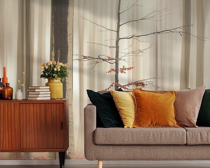 Sfeerimpressie behang: One tree life - The elegant one van Rob Visser