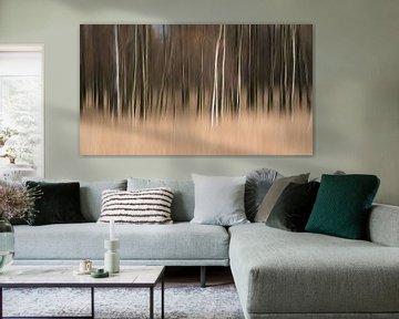 Relax met deze abstracte wanddecoratie aan de muur von LYSVIK PHOTOS
