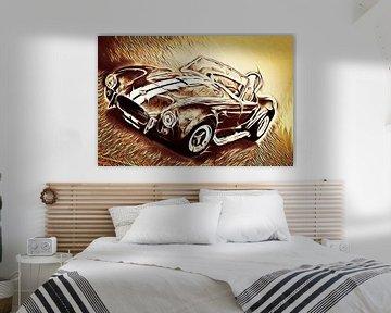 Shelby Cobra - Hell On Wheels (Vintage) van Jean-Louis Glineur alias DeVerviers
