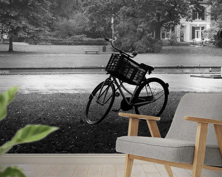 Sfeerimpressie behang: Alleen van Maarten Krabbendam
