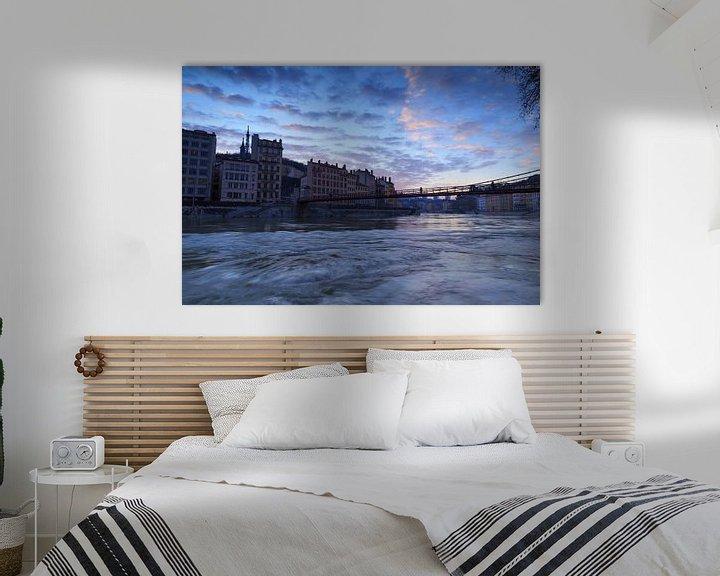 Sfeerimpressie: Saône Blue Hour van Sander van der Werf